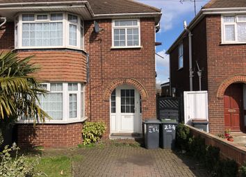Thumbnail 3 bed semi-detached house to rent in Selbourne Road, Luton