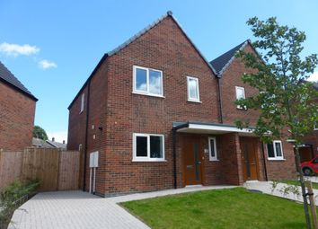 Thumbnail 3 bed semi-detached house to rent in Millbrook, Caistor, Market Rasen