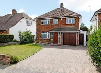 Thumbnail 4 bed detached house to rent in Silverdale Drive, Lower Sunbury