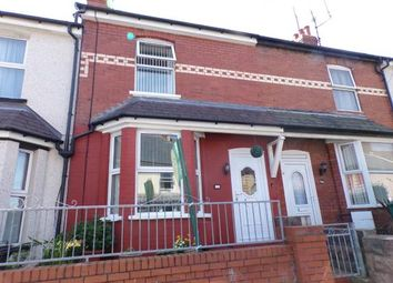 Thumbnail 2 bed terraced house for sale in Park Road, Colwyn Bay, Conwy, .