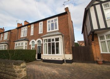 Thumbnail 4 bed semi-detached house for sale in Ella Road, West Bridgford, Nottingham