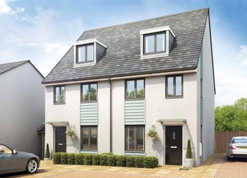 Thumbnail 3 bed semi-detached house for sale in Cann Bridge Meadow, Miller Way, Estover, Plymouth