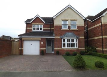 Thumbnail 4 bed detached house for sale in The Furlongs, Market Rasen