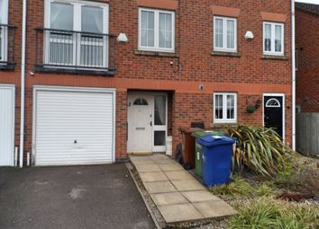 Thumbnail 3 bed terraced house to rent in Eaton Drive, Rugeley