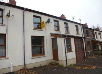 Thumbnail 3 bed terraced house for sale in Graig Road, Gwaun Cae Gurwen, Ammanford, Carmarthenshire.