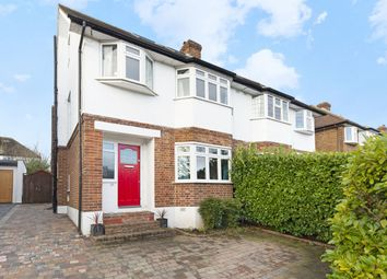 Thumbnail 4 bedroom semi-detached house for sale in Raeburn Avenue, Surbiton