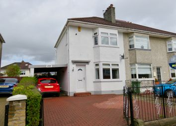 Thumbnail 2 bed semi-detached house for sale in Weirwood Avenue, Glasgow