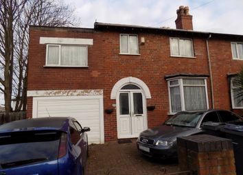Thumbnail 4 bed semi-detached house for sale in Robert Road, Handsworth, Birmingham