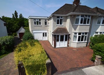 Thumbnail 4 bed semi-detached house for sale in Coombe Bridge Avenue, Bristol