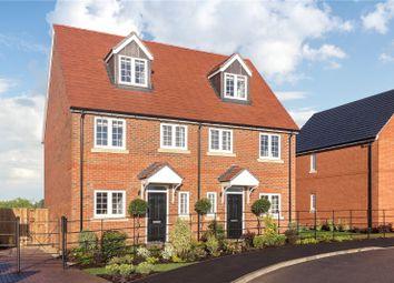 Thumbnail 3 bed semi-detached house for sale in Plot 40, Hopefield Grange, Littleworth Road, Benson, Oxfordshire