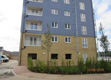 Thumbnail 2 bed flat to rent in Dunlin Drive, Chatham, Kent