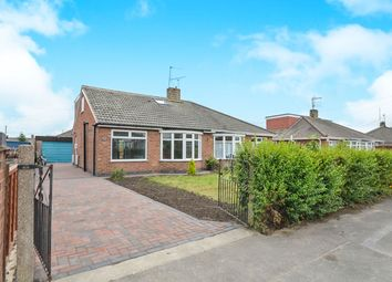 Thumbnail 3 bed semi-detached bungalow for sale in Fox Covert, Huntington, York