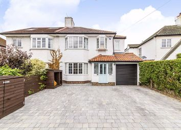 Thumbnail 4 bed semi-detached house to rent in Esher Road, East Molesey