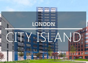 Thumbnail 1 bed flat for sale in Lighthouse Building, London City Island, Canary Wharf