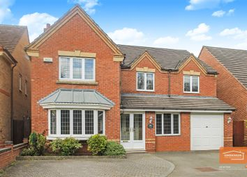 Thumbnail 5 bed detached house for sale in Swan Drive, Brownhills, Walsall