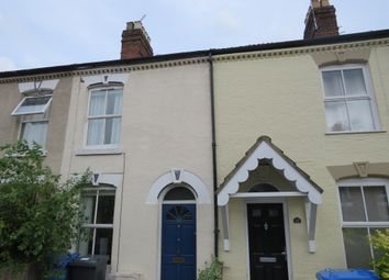 Thumbnail 3 bedroom terraced house for sale in Carlyle Road, Norwich