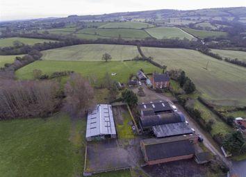 Thumbnail 4 bedroom farm for sale in Middletown, Welshpool