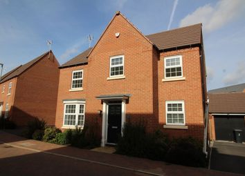 Thumbnail 4 bedroom detached house for sale in Tiberius Gardens, Hucknall, Nottingham
