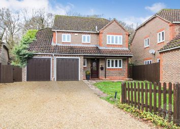 Thumbnail 4 bed detached house for sale in Kiln Drive, Curridge, Thatcham