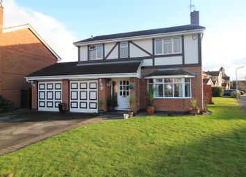 Thumbnail 4 bed detached house for sale in Rothbury Avenue, Trowell, Nottingham