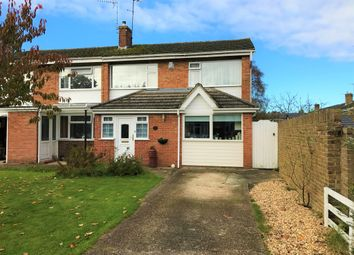 Thumbnail 3 bedroom semi-detached house for sale in Barton Drive, Hedge End, Southampton