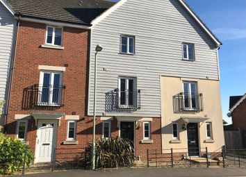 Thumbnail 3 bed town house to rent in Skylark Way, Stowmarket