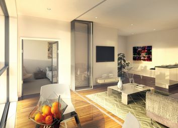 Thumbnail 3 bed flat for sale in Royal Victoria Place, London