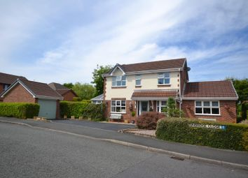 Thumbnail 4 bed detached house for sale in Leamington Close, Great Sankey, Warrington