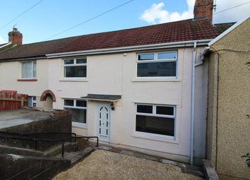 Thumbnail 3 bed terraced house for sale in Fflorens Road, Treowen, Newbridge