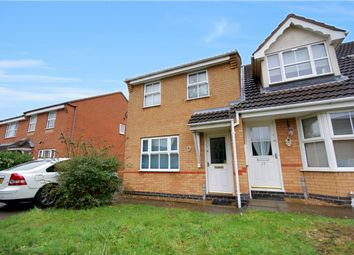 Thumbnail 3 bed semi-detached house for sale in Kirkstall Close, Bedford, Bedfordshire