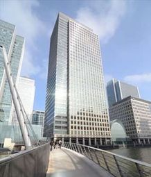 Thumbnail Serviced office to let in 40 Bank Street, London