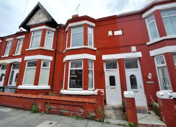 Thumbnail 3 bed terraced house for sale in Kingsley Road, Wallasey