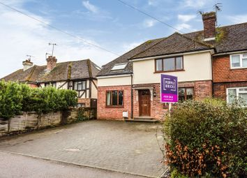 Thumbnail 4 bed end terrace house for sale in Riding Lane, Tonbridge