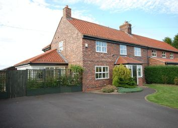 Thumbnail 5 bed semi-detached house for sale in Station Road, Stannington, Morpeth