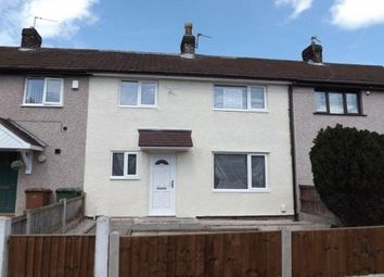 Thumbnail 3 bed terraced house to rent in Brookway Lane, St Helens