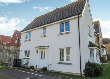 Thumbnail 3 bed end terrace house for sale in Song Thrush Close, Stowmarket