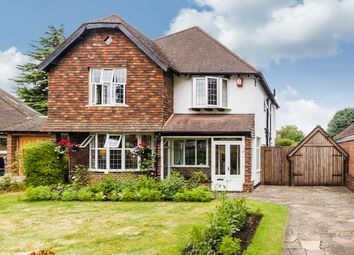 Thumbnail 4 bedroom detached house for sale in Higher Green, Epsom