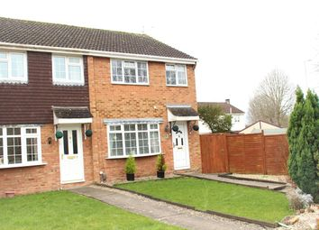 Thumbnail 3 bedroom end terrace house for sale in Rushmere Path, Swindon