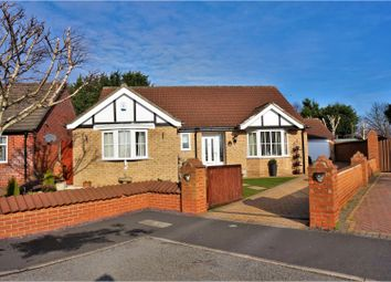 Thumbnail 3 bed detached bungalow for sale in Langdale Close, Lincoln