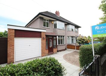 Thumbnail 3 bed semi-detached house for sale in Thingwall Road, Liverpool, Merseyside