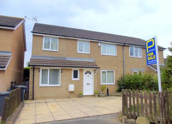 Thumbnail 4 bed semi-detached house for sale in Lindisfarne Close, Pegswood, Morpeth