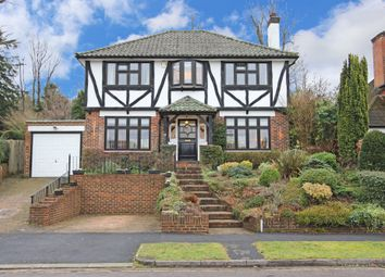 Thumbnail 4 bedroom detached house for sale in Stagbury Avenue, Chipstead