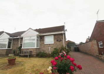 Thumbnail 2 bed semi-detached bungalow for sale in Flowerday Close, Hopton, Great Yarmouth