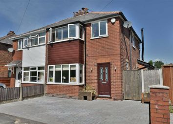 Thumbnail 3 bed semi-detached house for sale in Hulme Road, Leigh