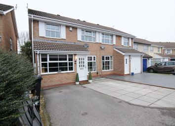 Thumbnail 3 bed semi-detached house for sale in Abbots Close, Whitchurch, Bristol