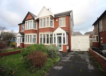 Thumbnail 3 bed semi-detached house for sale in Bispham Road, Layton, Blackpool