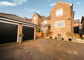 Thumbnail 5 bed detached house for sale in Beech Wood Drive, Tonyrefail, Porth