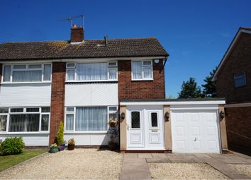 Thumbnail 3 bed semi-detached house for sale in Manor Farm Road, Shipston-On-Stour