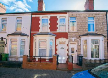 Thumbnail 2 bed terraced house for sale in Pomeroy Street, Cardiff, South Glamorgan