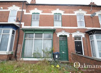 Thumbnail 3 bedroom terraced house for sale in Bournbrook Road, Birmingham, West Midlands.